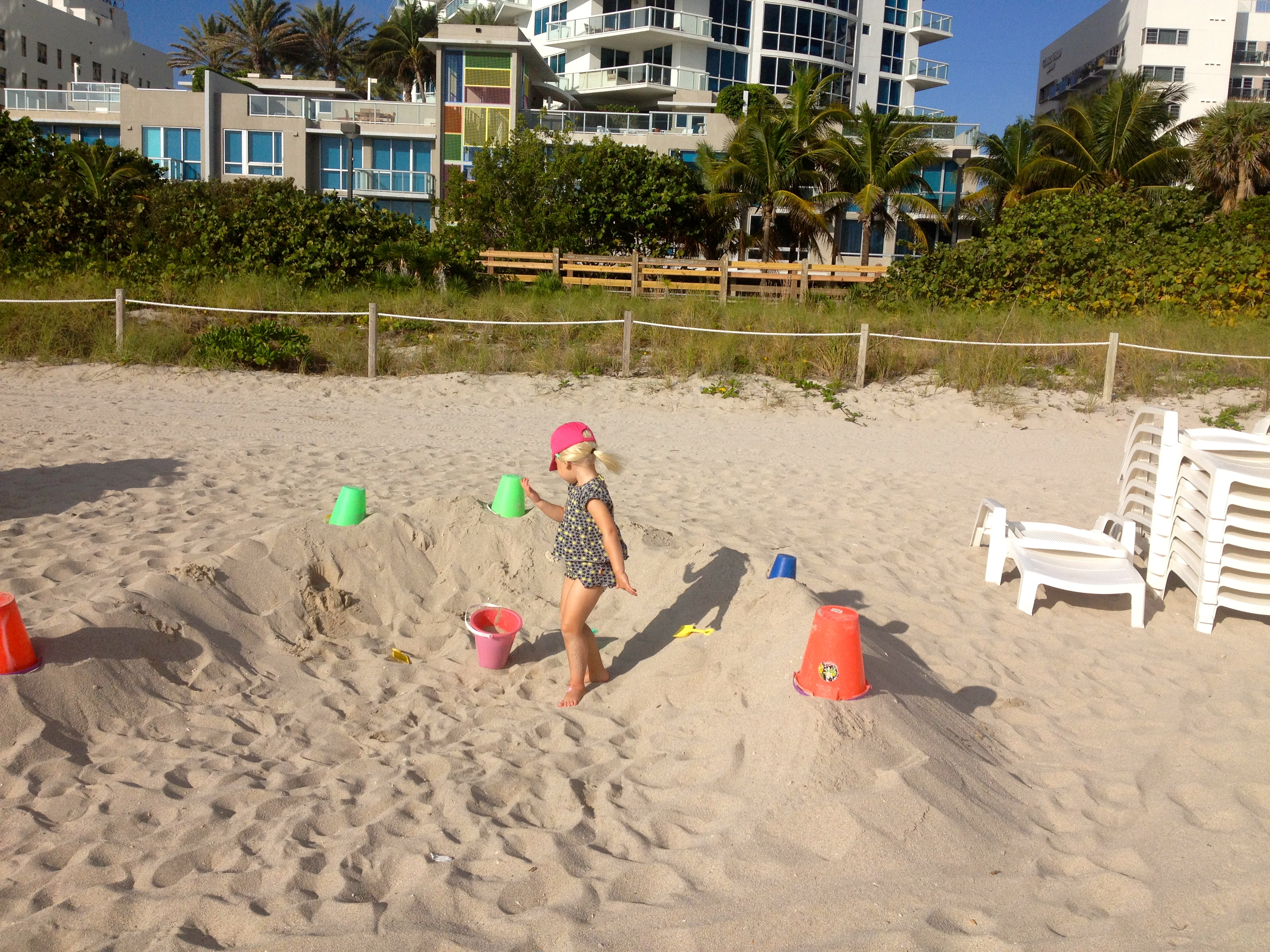 Harley på stranden
